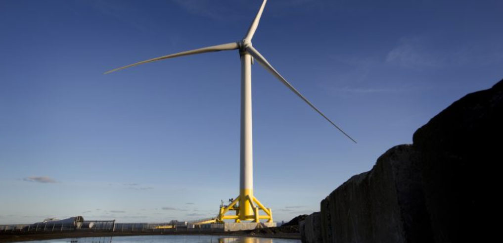 Levenmouth turbine, courtesy of Offshore Renewable Energy Catapult