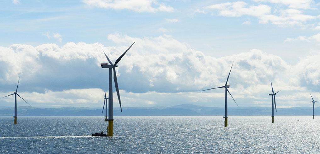 Gwynt y Môr offshore wind farm, (c) innogy