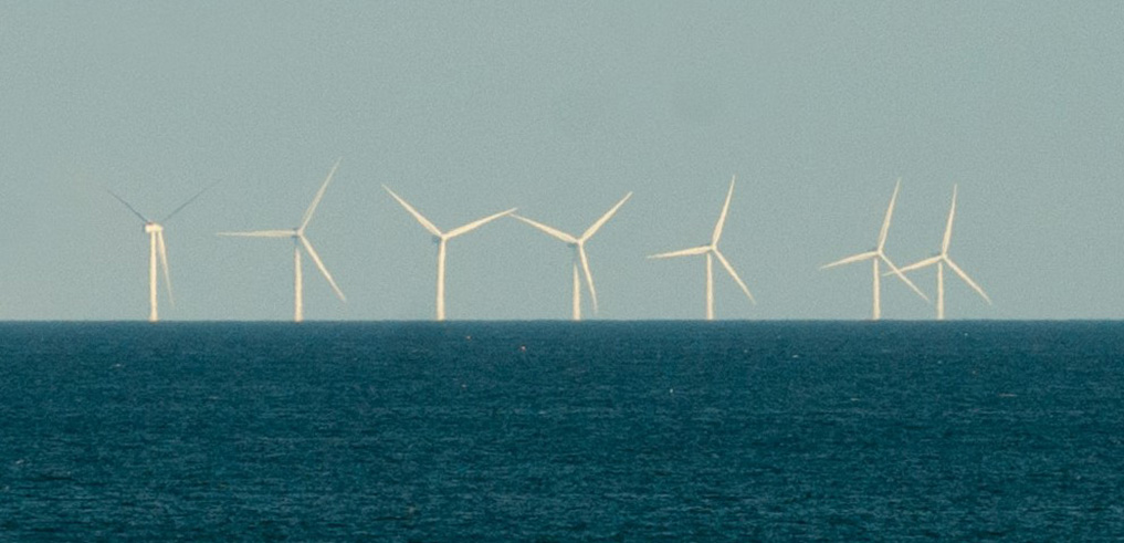 Hornsea Project One wind farm. Creative commons (CC BY-SA 4.0) photo by The joy of all things